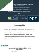 Corayma Cáceda -Actividad 3.1 Foro la web 2.0 en el aula