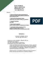 DOCUMENTOS DA IGREJA SOBRE O BATISMO DE CRIANÇAS.pdf