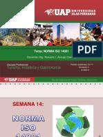SEMANA 14 NORMA ISO 14001