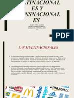 LAS MULTINACIONALES Y TRANSNACIONALES