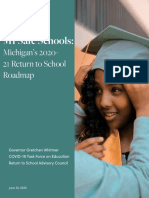 Michigan unveils plan for students to return to school in the fall