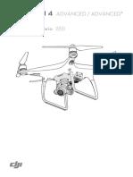 Phantom 4 Adv and Adv Plus User Manual ES