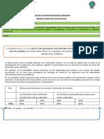 GUÍA Nº3  EDUCACION CIUDADANA- RIESGOS PARA LA DEMOCRACIA