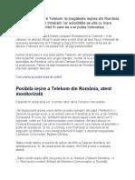 Posibila ieșire a Telekom din România, atent monitorizată de ce ar putea apărea probleme mari