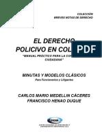 EL DERECHO POLICIVO EN COLOMBIA