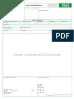 1668 Información Constancia Titularidad Cuenta Bancaria
