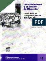 Alvarenga, A. (2005) Los Ciudadanos y el Estado de Bienestar