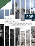 PLAN NACIONAL DE EMERGENCIAS Y GESTION DE RIESGOS EN PATRIMONIO CULTURAL