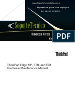 216 Thinkpad Edge13 e30 e31