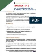 [PDF] Practica N° 5_ Proceso De Conservacion De LEGUMBRES (ARVEJA – Pisum Sativum I.)_compress (2).pdf