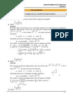 SOL Sustitución Trigonométrica