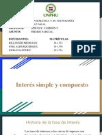 INTERÉS SIMPLE Y COMPUESTO. PDF 2