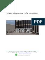 Túnel de Desinfección Peatonal - Perú