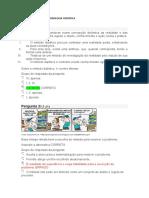 Avaliação geral - Metodologia Cientifica