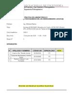 Informe de Laboratorio N° 1 HC-416B Grupo 2