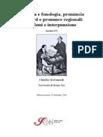 Fonetica e fonologia, pronuncia standard e pronunce regionali grafemi e interpunzione M00087_1