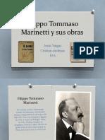 Filippo Tommaso Marinetti y sus obras