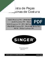 Máquina-Singer-Precisa99-2602-Precisa´02-LP402-Facilita´99-2630-Elegance´99-4822_4830-Facilita-Plus´02-ZP418B-Carina´02-ML418B-Bella´02-ML418B-Fashion´99-9818_9836
