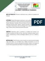 DIMENSIÓN VIDA SALUDABLE Y CONDICIONES NO TRANSMISIBLES