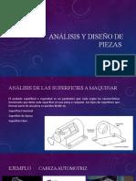 Análisis y diseño de piezas