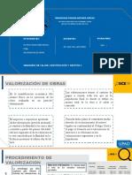 ARAMBULO NAVARRO MIJAIL - SEMINARIO 2 - VALORIZACIÓN DE OBRAS