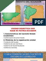 NACIENTE ESTADO ECUATORIANO