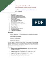 Syllabus CFD I