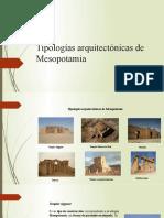 Tipologías arquitectónicas de Mesopotamia