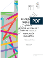 Priorizacion curricular (Chile)