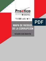 Mapa de Riesgo de Corrupción de San Martín