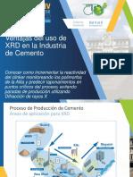 ventaja del uso de la XRD en la industria del cemento