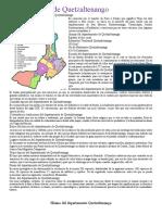 01082017.- Departamento de Quetzaltenango División política Idioma Economía Costumbres y tradiciones Bailes folclóricos Lugares turísticos..docx