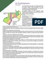 01082017.- Departamento de Suchitepéquez  División política Idioma Economía Costumbres y tradiciones Bailes folclóricos Lugares turísticos.docx