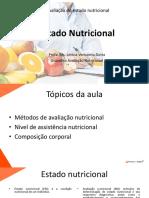 Aula 1 - Estado Nutricional
