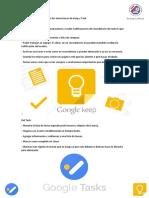 Beneficios de Google Keep y Task