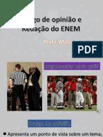 Artigo de opinião e Redação do ENEM