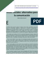 Simón Vargas Aguilar - Redes sociales. Alternativas para la comunicación.doc