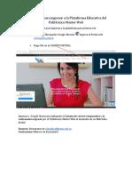 Paso a paso para ingresar a la pagina Educativa del PMW (1)