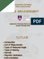 Lecture 4 - Angle Measurement