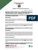 FORMULARIO PREGUNTAS Y RESPUESTAS N° 1 PROCESO 191-CENACAVIACION-2020