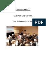 Currículum Vitae Santiago Tartara
