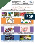 Guía #1 de conceptos basicos para la clasificacion de los seres vivos
