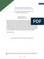 DISEÑO DE INTERFACES GRÁFICAS PARA RECURSOS DIDÁCTICOS DIGITALES