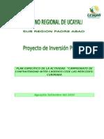 PROYECTOS SOCIALES 2009