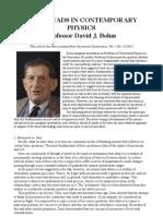 Bohm - Basic Dyads in Contemporary Physics