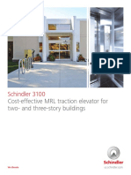 schindler-3100-mrl-elevator-brochure