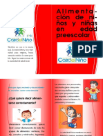 folleto -caminadores