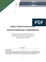 2) Manual Técnico - Integración y Transformación