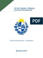 Informe Económico Ejercicio 2019