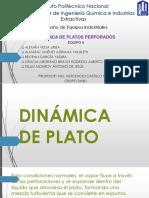 Dinámica de Platos Perforados. Equipo 4